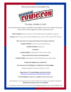 New York Comic Con Trip 2014