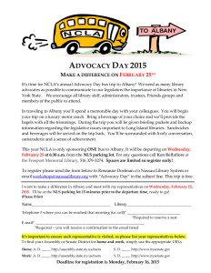 Advocacy Day Event Flyer 2015