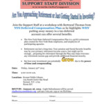 NYS Deferred Compensation Plans Event Flyer.