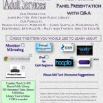 RASD Tech Panel Presentation Event Flyer.