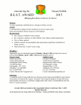 B.E.S.T Award Application.