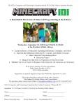 Minecraft Flyer 2015