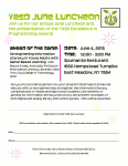 YASD June Luncheon Event Flyer 2015.