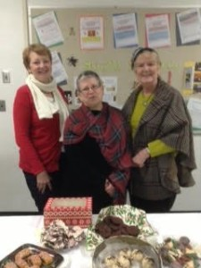 The Retiree Committee Cookie Swap.