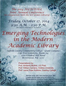 Annual Joint Conference Flyer.